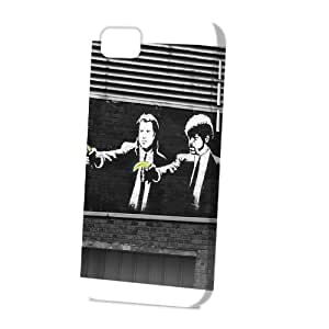linJUN FENGCase Fun Apple ipod touch 5 Case - Vogue Version - 3D Full Wrap - Graffiti Pulp Fiction Banana