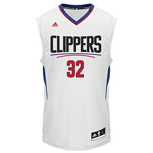 NBA Men's Los Angeles Clippers Blake Griffin Replica Player Home Jersey, 2X-Large, White