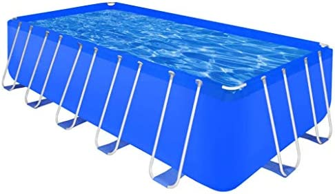 vidaXL Piscina Rectangular Desmontable 540x270x122 cm Jardín Patio SPA Jacuzzi: Amazon.es: Hogar