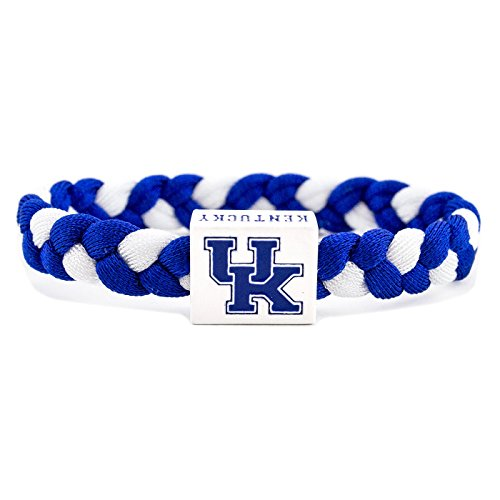 Glass-U NCAA Game Day Nylon Woven Bracelet - Kentucky Wildcats (Glass Wildcats)