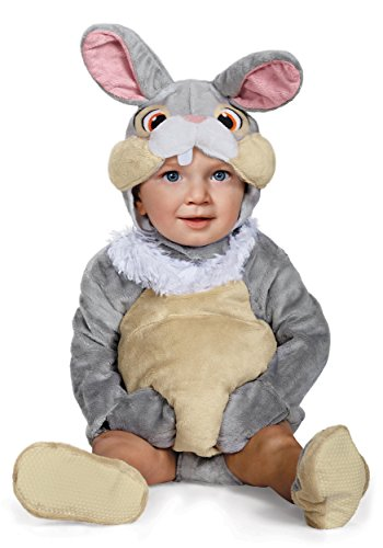 Disguise Baby Thumper Deluxe Infant Costume, Gray, 12 to 18 Months -