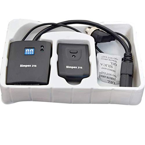 SIMPEX 216 Studio Flash Trigger Camera Remote Control Black