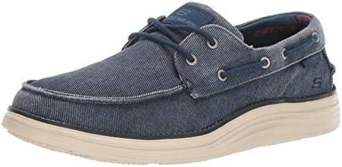Men's Skechers Status 2.0 Lorano Boat Shoe