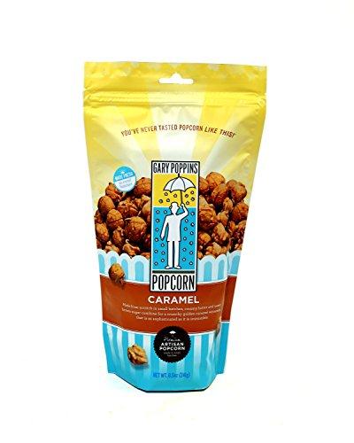 Gary Poppins Caramel Popcorn, Bag, 8.5oz