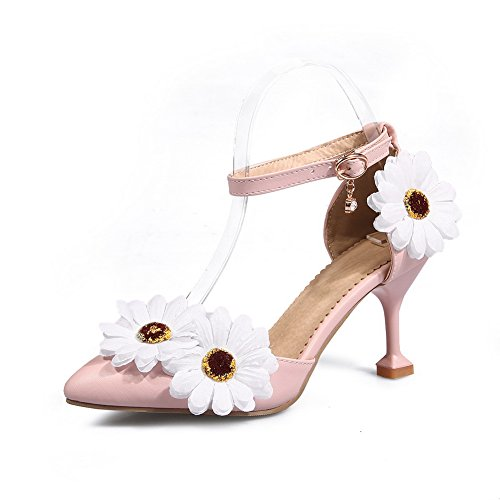 Mini Sandals Dress 1TO9 Pink Urethane Size Embroidered MJS03144 Womens xYnxwZTE