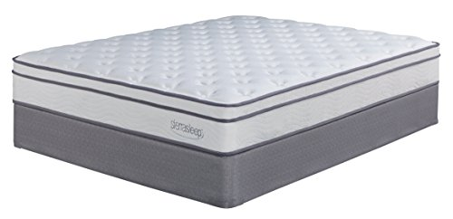 Sierra Sleep by Ashley M90721 Mattress, Full, White