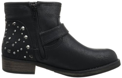 Skechers Accented toughy, Women's Biker Boots Black