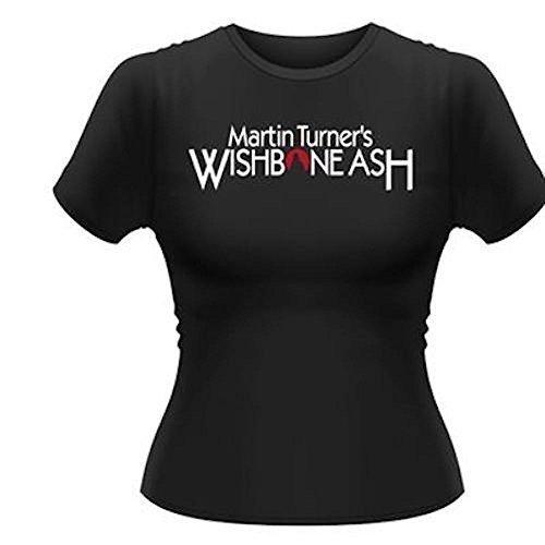 WISHBONE ASH (MARTIN TURNER) - LIFE BEGINS - OFFICIAL WOMENS T SHIRT (M)