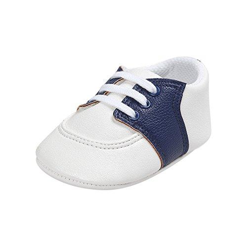 ESTAMICO Baby Jungen Mädchen Schuhe Säugling PU Leder