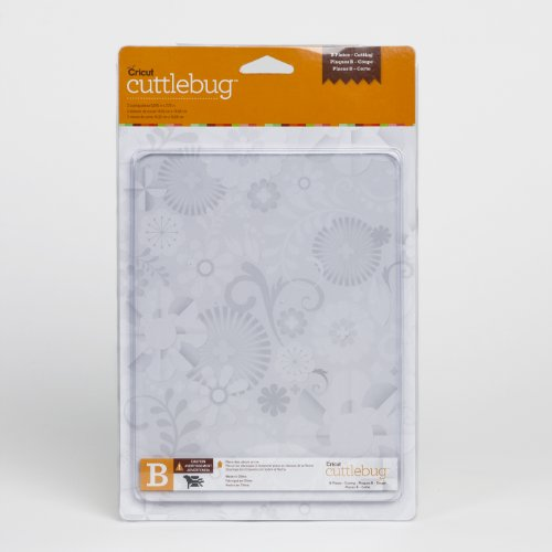 Cricut Cuttlebug Replacement Cutting Mat B, 2 Mats
