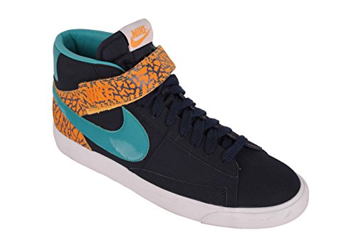 Uomo 5 42 grün Blu Sneaker Blau Nike orange Zw5qHzRcx