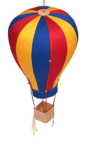 hot air balloon model red - 5