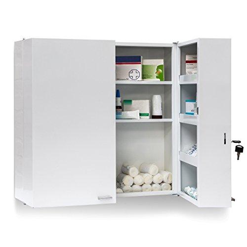 Avis Et Test Relaxdays 10019095 Armoire A Pharmacie Acier Xxl