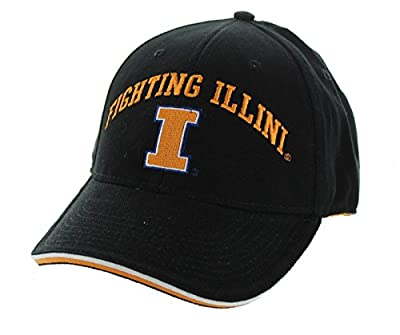 New! University of Illinois Illini Adjustable Back Hat Embroidered Cap from NCAA Signatures