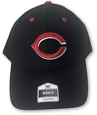 Fan Favorite Cincinnati Reds Structured Adjustable Hat Black