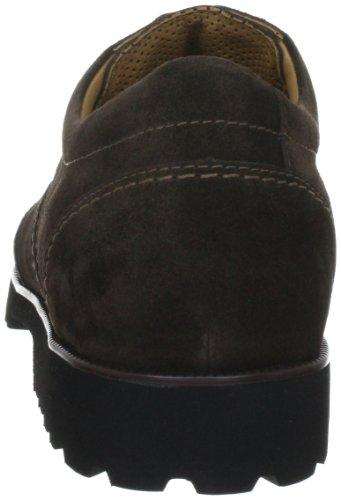 Ganter Gregor, Weite G 4-257332-20000 - Zapatos casual de ante para hombre Marrón
