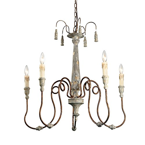 LALUZ Acrylic 2-Tier Ceiling Lights Round Chandeliers (A03279)