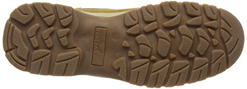 Tom Tailor 1681302, Botines para Hombre Marrón - Braun (Camel)