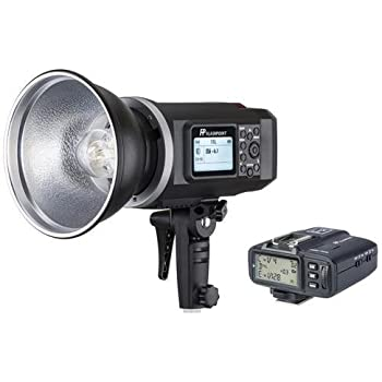 Flashpoint XPLOR 600 HSS TTL Battery-Powered Monolight with Built-in R2 2.4GHz Radio Remote System and R2 Transmitter For Canon(Bowens Mount) - Black
