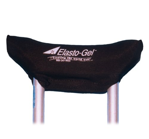 Crutch-Mate Crutch Pads, Crutch-Mate Gel Underarm Pad, (1 PACK, 2 EACH) by Southwest Technologies