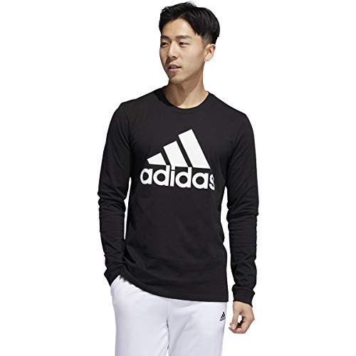 adidas Men's Basic Badge of Sport Long Sleeve Tee 3