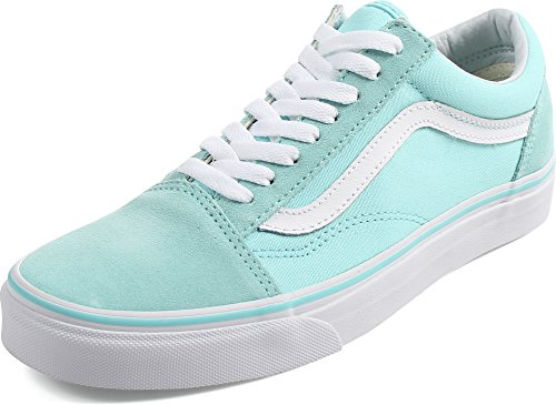 Bestelwagens Unisex Old Skool Classic Skate Schoenen Arube Blauw True White