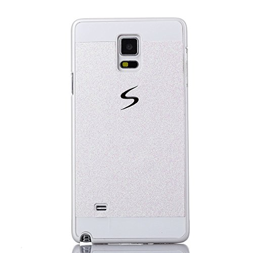 Samsung Galaxy S5 Case, Top Selling TM Luxury Beauty Diamond Shiny Sparkling Glitter with Crystal Rhinestone Premium Pc Hard Case Cover for Samsung Galaxy S5 + Bonus Top Selling Logo Stylus (samsung galaxy s5 i9600, White)