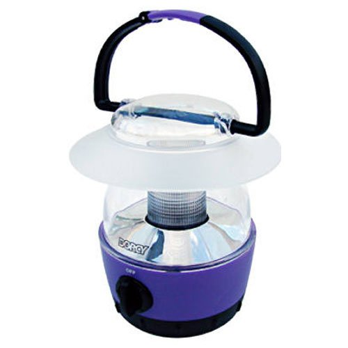 Dorcy 40-Lumen Mini-LED Flashlight Lantern with Built-In Hanging Hook, Assorted Colors (41-1017) (Small Lantern)