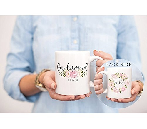 Customized Bridesmaids Mug, Bridesmaid Mug, Bridesmaid Gift, Will you be my Bridesmaid (John Bottle Water Kids Deere)