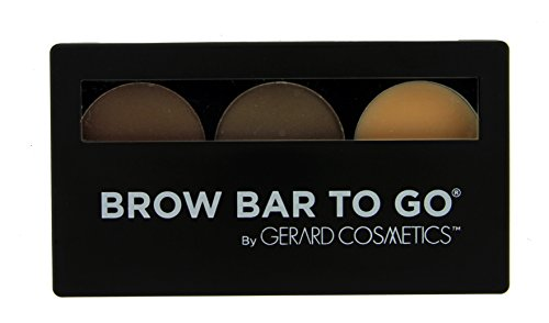 Brow Bar to Go, Brush on Brow - Gerard Cosmetics, Medium to Ebony (Brunette) ()