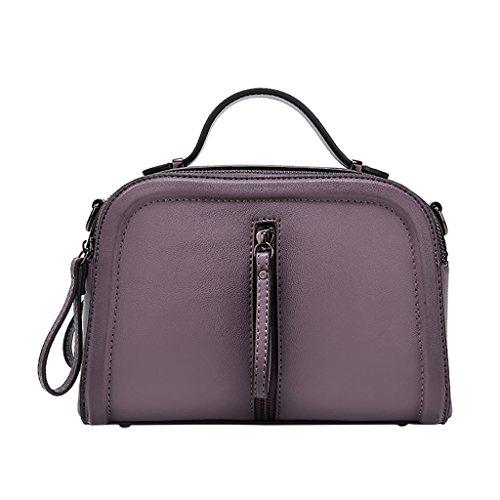 Bolso Diseñador Totalizador purple Señora Grandes Hombro Bolsos Uk Mena La De Suave Cuero Del Pink YEqHfHn