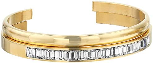 Invicta Women's Angel Quartz Watch with Stainless Steel Strap, Gold, 13 (Model: 29269)