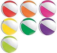 R5D1 R52X Wasserball Strandball Ø ca. 28cm Wasserspielzeug G1 (R576 Magenta)