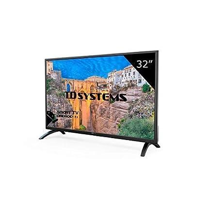 11949ab79ef TD Systems K32DLM8HS - Televisor Led 32 Pulgadas HD Smart ...