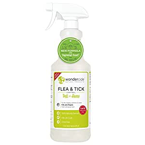 Wondercide Natural Flea & Tick Control for Pets Home - Cedar & Lemongrass - 32 oz