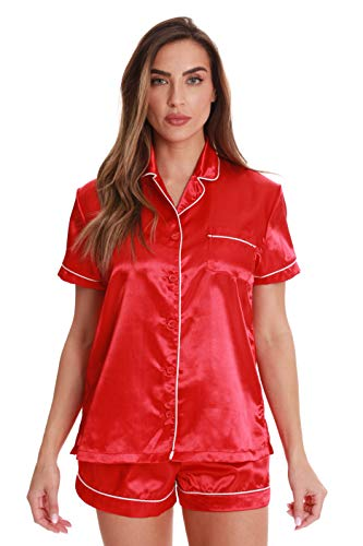 (Just Love 6711-RED-2X Shorts Set for Women)
