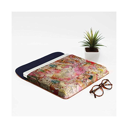 Macbook Leather Floral Watercolor Air Envelope Sketch Sleeve Abstract DailyObjects Pro Real Pattern For 13 Colorful wPEqwHa0