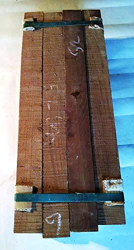 12 Pack of Teak Wood Boards @ 19-20