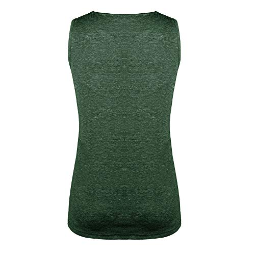 LUNIWEI T-shirt for Women Solid Tops Vest Summer Loose Sleeveless Tee Blouse shirt 2019 New by LUNIWEI (Image #2)