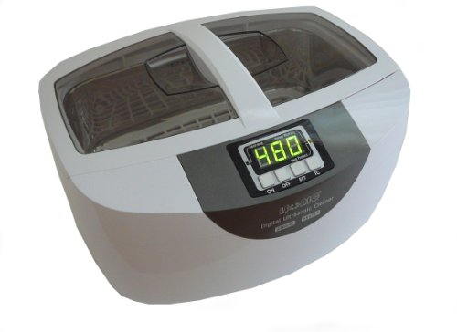 iSonic Professional Grade Ultrasonic Cleaner P4820-WPT with Heater and Digital Timer, Plastic Tray