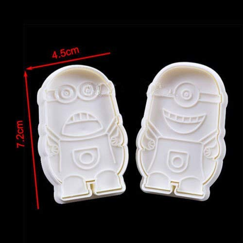 (1 piece Despicable Minions Cake Fondant Chocolate Cutter Mold Biscuit Cookies Mould Decorating For The Kitchen)