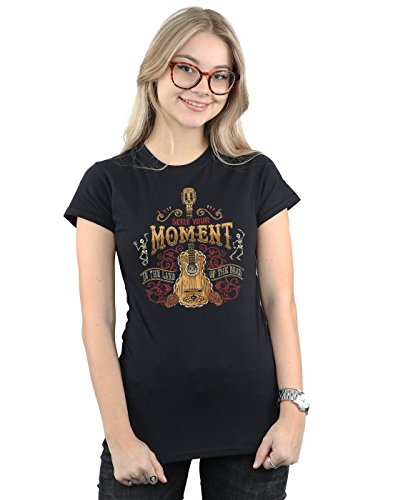 Disney Women's Coco Land of The Dead T-Shirt Large Black