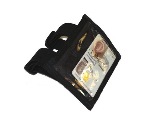 - Military Armband ID Holder in Black, Made in The USA, Raine, Inc.