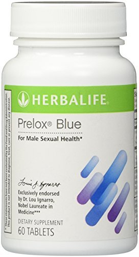 Herbalife Prelox Blue (60 tablets), Men's Solutions Formulated with L-arginine and Pycnogenol