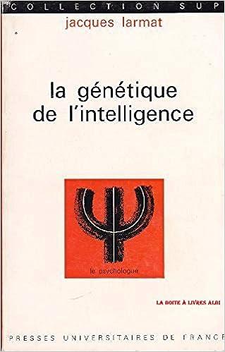 Livres gratuits en ligne La génétique de l'intelligence pdf, epub