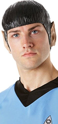 Spock Vinyl Wig with Ears - ST -