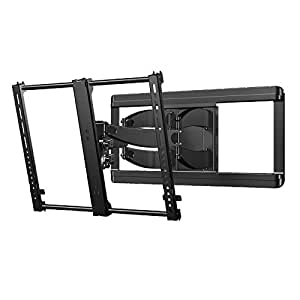 Amazon Com Sanus Premium Full Motion Tv Wall Mount For 42