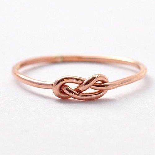 Amazon Rose Gold Infinity Ring Handmade