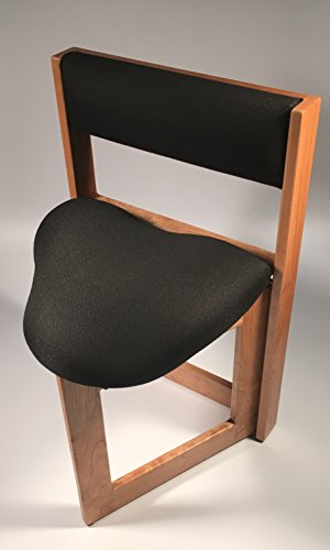 Armless Storage Chair - The Original Guitar Chair (19 Inch Seat Height, Cherry Hardwood)
