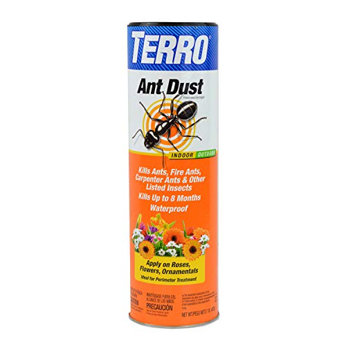 TERRO T600 Ant Dust - Kills fire ants, carpenter ants, cockroaches, spiders (Best Way To Get Rid Of Carpenter Bees)